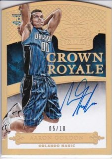 2014-15 NBA PANINI PREFERRED CROWN ROYALE GOLD Aaron Gordon【10枚限定】/MATCHUP  FF 様