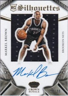 2014-15 NBA PANINI PREFERRED SILHOUETTES ROOKIE Markel Brown /MATCHUP  名人 様