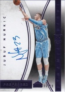 2014-15 NBA PANINI PREFERRED Dynamic Debuts Purple Jusuf Nurkic【20枚限定】/MATCHUP  名人 様