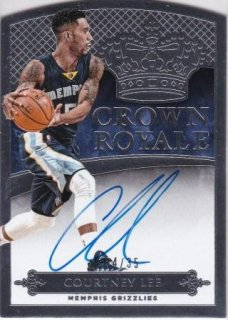 2014-15 NBA PANINI PREFERRED CROWN ROYALE Courtney Lee /MATCHUP  名人 様