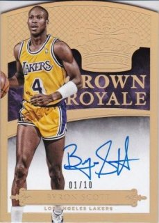 2014-15 NBA PANINI PREFERRED CROWN ROYALE GOLD Byron Scott【10枚限定】/MATCHUP  名人 様