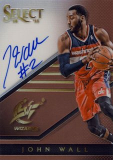 2014-15 PANINI SELECT Copper Auto John Wall 【49枚限定】Rookie Star RS31様