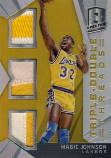 2014-15 PANINI SPECTRA Gold Patch Magic Johnson 【10枚限定】Rookie Star RS31様