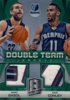 2014-15 PANINI SPECTRA Green Patch Gasol Conley【 5枚限定】Rookie Star RS31様