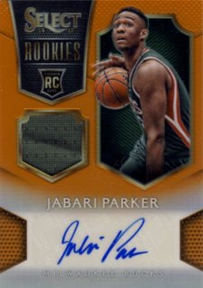 2014-15 PANINI SELECT RC Orange Jersey Auto Jabari Parker【60枚限定】 Rookie Star RS45様