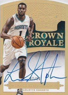 14/15 PANINI PREFERRED BASKETBALL AUTO LANCE STEPHENSON 【10枚限定】HOTBOX KO様
