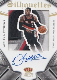14/15 PANINI PREFERRED BASKETBALL AUTO PATCH【25枚限定】WESLEY MATTHEWS HOTBOX KO様