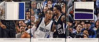 2014-15 PANINI PREFERRED Dual Patch McLemore Ellis【25枚限定】 Rookie Star RS12様