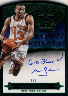 2014-15 PANINI PREFERRED Green Auto Mark Jackson【5枚限定】 Rookie Star RS12様