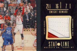 2014-15 PANINI PREFERRED Patch Dwight Howard 【25枚限定】Rookie Star RS16様