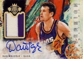 2014-15 PANINI COURT KINGS Patch Auto Dan Majerle 【25枚限定】Rookie Star RS17様