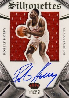 2014-15 PANINI PREFERRED Silhouettes Jersey Auto Robert Horry【 60枚限定】Rookie Star RS21様