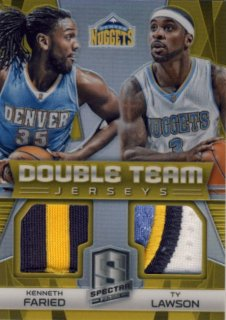 2014-15 PANINI SPECTRA Gold Patch Faried Lawson 【10枚限定】Rookie Star RS29様