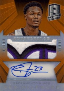 2014-15 PANINI SPECTRA Orange Patch Ben McLemore【 25枚限定】Rookie Star RS29様