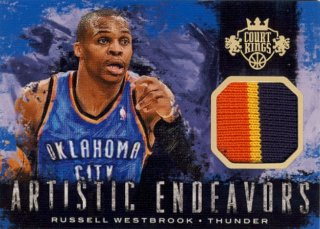 2014-15 PANINI COURT KINGS Patch Russell Westbrook 【25枚限定】Rookie Star RS44様