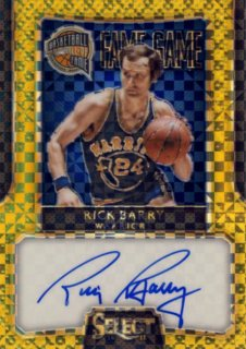 2014-15 PANINI PRIZM Gold Auto Rick Barry【10枚限定】Rookie Star RS44様