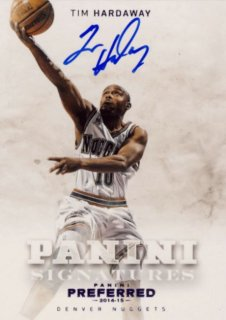2014-15 PANINI PREFERRED Purple Auto Tim Hardaway 【20枚限定】Rookie Star RS47様