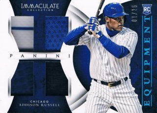 2015 PANINI IMMACULATE COLLECTION Blue Immaculate Equipment Addison Russell 【25枚限定】 渋谷店 きたさん様