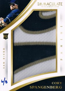 2015 PANINI IMMACULATE COLLECTION Prime Immaculate Jumbo Cory Spangenberg  【8枚限定】 渋谷店 きたさん様