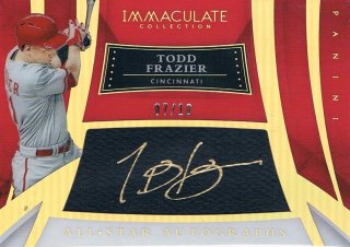 2015 PANINI IMMACULATE COLLECTION Holo Gold All-Star Autograph Todd Frazier 【10枚限定】 渋谷店 きたさん様