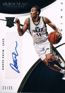 2015 PANINI IMMACULATE COLLECTION Sports Variations Autograph Dante Exum 【25枚限定】 渋谷店 きたさん様