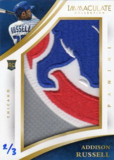 PANINI 2015 IMMACULATE COLLECTION Big Patch Card Addison Russell 【3枚限定】 神田店 SUZUKI様