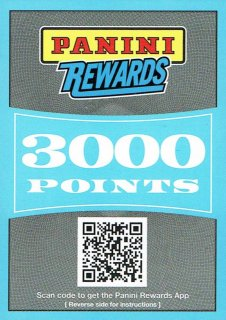 14-15 NATIONAL TREASURES Reward Point 3000 えびすスポーツカード CP4様