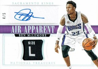 14-15 NATIONAL TREASURES Tag Auto Ben McLemore【5枚限定】えびすスポーツカード CP4様