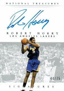 14-15 NATIONAL TREASURES Auto Robert Horry【75枚限定】えびすスポーツカード CP4様
