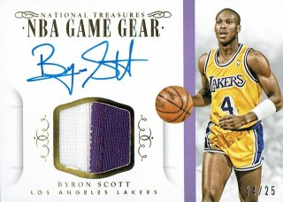 14-15 NATIONAL TREASURES Patch Auto Byron Scott【35枚限定】えびすスポーツカード Kuma様