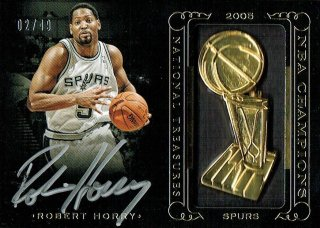 14-15 NATIONAL TREASURES Auto Robert Horry【49枚限定】えびすスポーツカード Kuma様