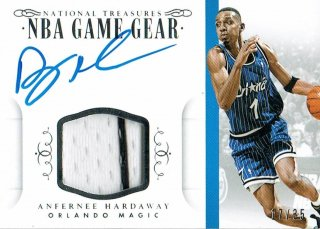 14-15 NATIONAL TREASURES Jersey Auto Anfernee Hardaway【35枚限定】えびすスポーツカード CP3様
