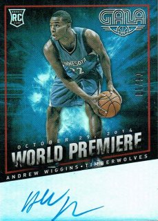 14-15 GALA Auto Andrew Wiggins【10枚限定】えびすスポーツカード CP4様