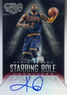 2014-15 PANINI GALA Starring Role Auto Kyrie Irving 【49枚限定】Rookie Star RS3様
