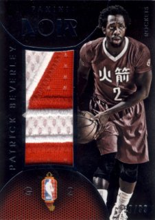 2014-15 PANINI NOIR Chinese Patch Patrick Beverley【99枚限定】 Rookie Star RS9様