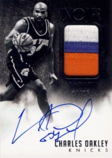 2014-15 PANINI NOIR Patch Auto Charles Oakley 【25枚限定】 Rookie Star RS9様