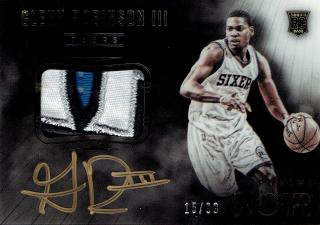 2014-15 PANINI NOIR AUTOGRAPHED PATCH ROOKIES COLOR GREN ROBINSON � 【99枚限定】/MINT立川店 TANA07様