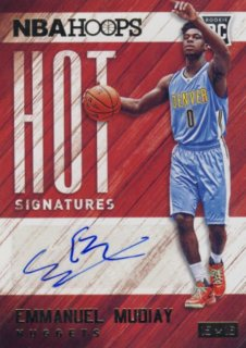 2015-16 PANINI HOOPS Auto Emmanuel Mudiay Rookie Star RS22様