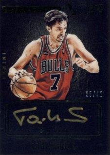 2014-15 PANINI Noir Auto Toni Kukoc 【42枚限定】Rookie Star RS29様