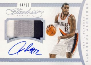 2014-15 PANINI Flawless Patch Auto LaMarcus Aldridge 【20枚限定】Rookie Star RS9様