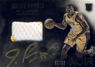 2014-15 PANINI Noir RC Patch Auto Julius Randle【99枚限定】 Rookie Star RS29様