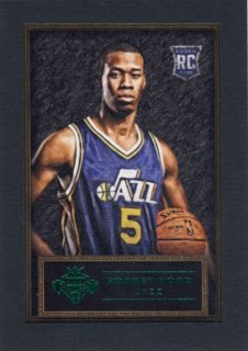 2014-15 PANINI COURT KINGS Green Rodney Hood 【5枚限定】Rookie Star RS46様