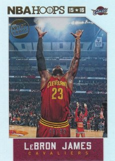 2015-16 Panini Hoops LeBron James Base Artist Proof【99枚限定】札幌店 よし様