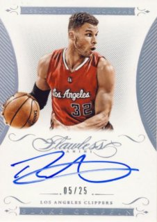 2014-15 PANINI Flawless Auto Blake Griffin 【25枚限定】Rookie Star RS9様
