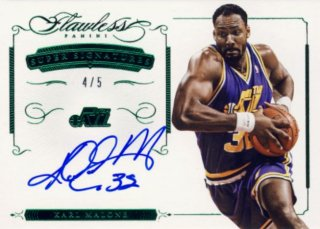 2014-15 PANINI Flawless Auto Karl Malone 【5枚限定】Rookie Star RS9様