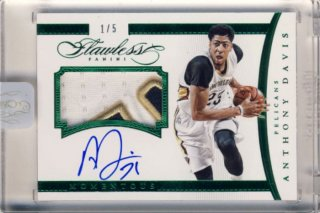 2014-15 PANINI Flawless Patch Auto Anthony Davis【 5枚限定】Rookie Star RS9様