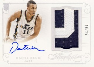 2014-15 PANINI Flawless Patch Auto Dante Exum 【15枚限定】Rookie Star RS9様