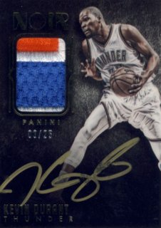 2014-15 PANINI Noir Patch Auto Kevin Durant【25枚限定】 Rookie Star RS9様