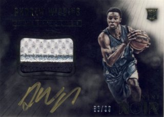 2014-15 PANINI Noir RC Patch Auto Andrew Wiggins【 99枚限定】Rookie Star RS9様