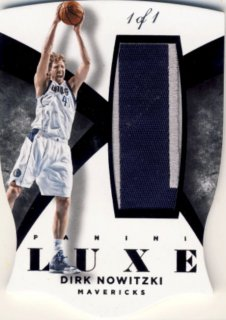 2014-15 PANINI Luxe Patch Dirk Nowitzki 【1枚限定】Rookie Star RS12様
